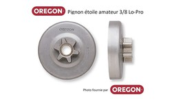 Pignon pour chaine de tronçonneuse Oregon chez www.martin-motoculture.fr - Voir en grand