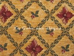 Tissu Amélie Prévot - Rohan - réf: 16076 - Coloris: 42 Jaune - Voir en grand
