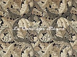 Tissu William Morris - Acanthus - réf: 226399 Charcoal/Grey - Voir en grand