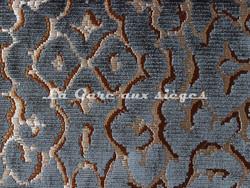 Tissu Nobilis - Velours Monte Cristo - réf: 10571-23 - Coloris: Noir - Voir en grand