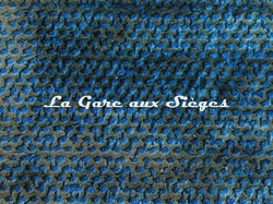 Tissu Rubelli - Velours Luchino - réf: 30259.007 Blu - Voir en grand