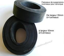 anneaux de suspension pour remorque Lama, Erka, Portaflot, Noval - Voir en grand
