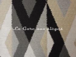 Tissu Deschemaker - Batik - réf: 103961 Réglisse - Voir en grand