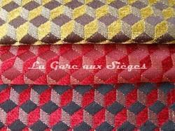 Tissu Osborne & Little - Ravenna Chenille - réf: F6140 - Coloris: 10 - 11 - 12 - Voir en grand