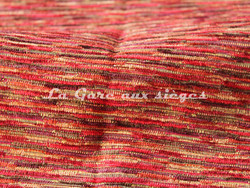 Tissu Deschemaker - Babylone - réf: 103890 - Coloris: Tango - Voir en grand