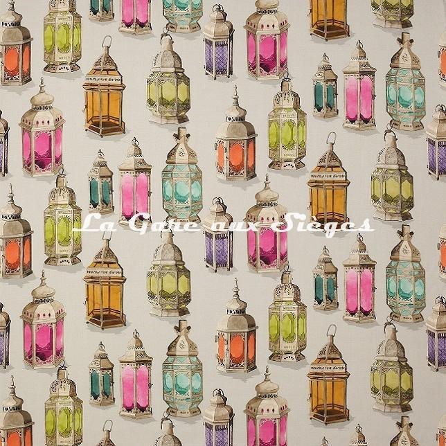 Tissu Manuel Canovas - Essaouira - réf: O4953.02 Multicolore - Voir en grand