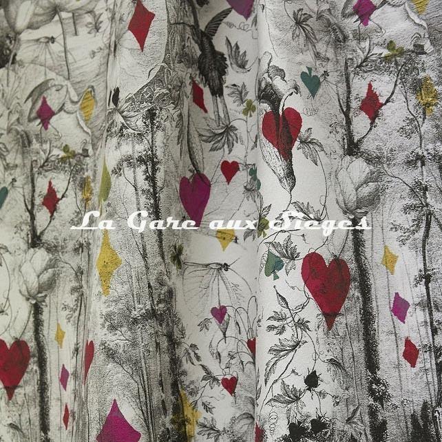 Tissu Jean Paul Gaultier - Tarot - réf: 3489.01 Multico - Voir en grand