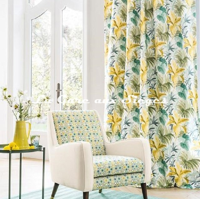 Tissu Camengo - Palma ( rideaux ) - Voir en grand