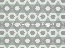 Tissu Camengo - Exentricite - réf: 4194.0258 Céladon - Voir en grand