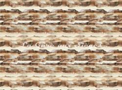 Tissu Casamance - Sérénité - réf: 3786.0362 Champagne - Voir en grand