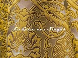 Tissu Tassinari & Châtel - Léonardo - réf: 1691.03 Or - Voir en grand
