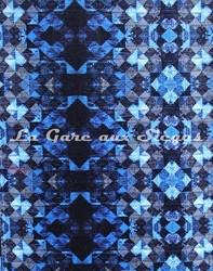 Tissu Osborne & Litlle - Mustique - réf:6637-04 - Coloris: Persian blue - Voir en grand