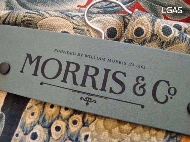 Tissus William Morris - La Gare aux Sièges - Voir en grand