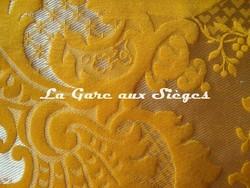 Tissu Tassinari & Châtel - Louis Philippe - réf: 1653.04 Or - Voir en grand