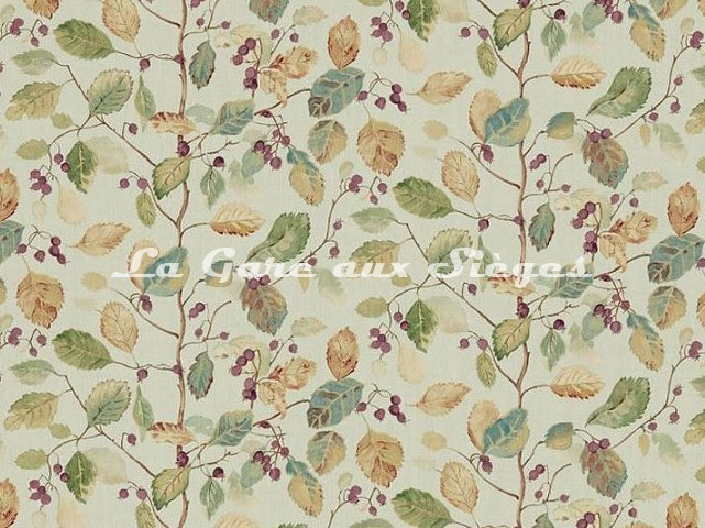 Tissu Sanderson - Woodland Berries - réf: 225529 - Voir en grand