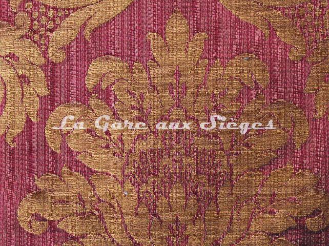 Tissu Chanée Ducrocq - Chambord - réf: 6747 Pourpre - Voir en grand