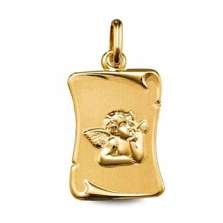 parchemin ange or jaune 9 carats 129 ¤  - Voir en grand
