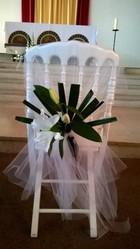 décor de chaises pour mariage - Voir en grand