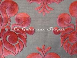 Tissu Casal - Velours Galliéra - réf: 12655 - Coloris: 25 Cuivré - Voir en grand