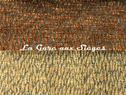 Tissu Pierre Frey - Colette - réf: F3115 - Coloris: 017 Caramel & 018 Noix de Pécan - Voir en grand