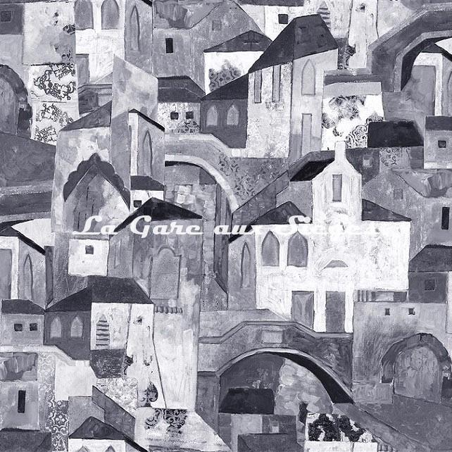 Tissu Rubelli - Burano - réf: 30411.002 ( motif droit ) - Voir en grand