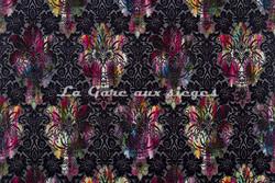 Tissu Luciano Marcato - Casanova - réf: LM19519-100 Multicolore ( largeur de lé ) - Voir en grand