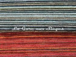 Tissu Casal - Alpha - réf: 16183 - Coloris: 15 Orage & 75 Sanguine - Voir en grand