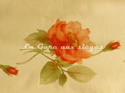 Tissu Bélinac - Pastel - réf: 1023/3936-01 Orangé/Orange - Voir en grand