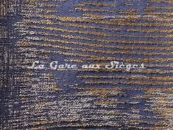 Tissu Casamance - Adage - réf: 3787.0511 Marine - Voir en grand