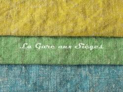Tissu Boussac - Candy - réf: O7940 - Coloris: 007 Zeste - 008 Cactus - 009 Pacifique - Voir en grand