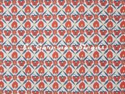 Tissu Jim Thompson - Poppy Field - réf: J2261/003 Red - Voir en grand