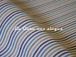 Tissu Casal - Funambule - réf: 16185.1272 Bleu Ivoire - Voir en grand