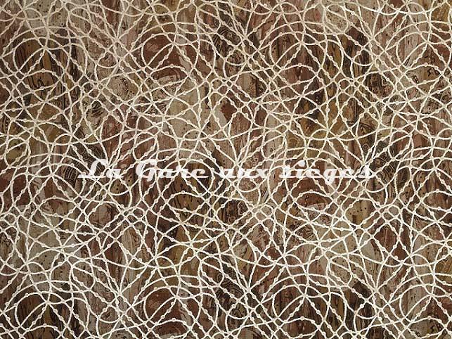 Tissu Casal - Web - réf: 12688.72 Coquillage - Voir en grand