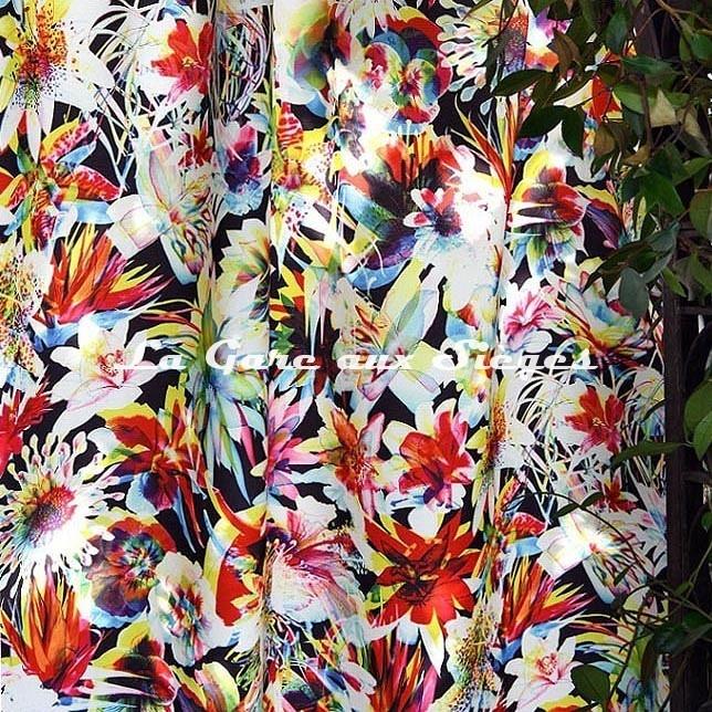 Tissu Jean Paul Gaultier - Barbade - Voir en grand