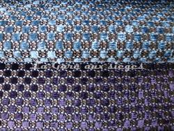 Tissu Nobilis - Velours Raphaël - réf: 10347 - Coloris: 60 et 45 - Voir en grand
