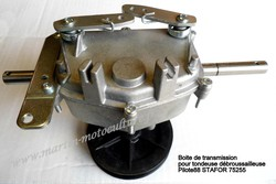 Boite de transmission tondeuse débroussailleuse STAFOR 75255 PILOTE88 www.martin-motoculture.fr - Voir en grand