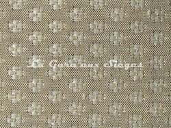 Tissu Le Crin - Nircel 201 - réf: C0201 - Coloris: 036 Gris clair/Crème - Voir en grand