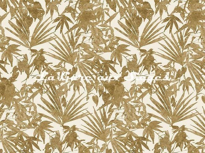 Tissu Rubelli - Home Jungle - réf: 30409.007 Sabbia - Voir en grand