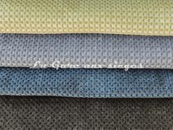 Tissu Chanée Ducrocq - Caviar - Coloris: 2479 Amande - 2484 Lavande - 2486 Nattier - 2493 Anthracite - Voir en grand