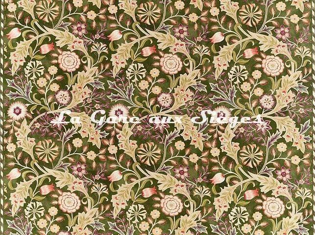 Tissu William Morris - Wilhelmina - réf: 226605 Moss - Voir en grand