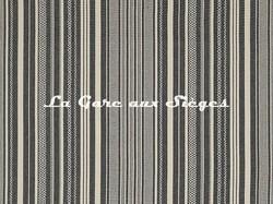 Tissu Pierre Frey - Zoulous - réf: F3350.003 Réglisse - Voir en grand
