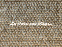 Tissu Rubelli - Velours Luchino - réf: 30259.001 Caramel - Voir en grand