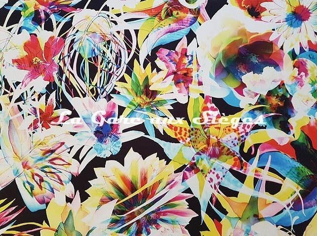 Tissu Jean Paul Gaultier - Hawaï - réf: 3496.01 - Voir en grand