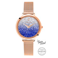 Montre cristal bleu 108G968 139¤ - Voir en grand