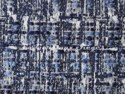 Tissu Osborne & Little - Oakley - réf: F7064-02 Blue/Neutral