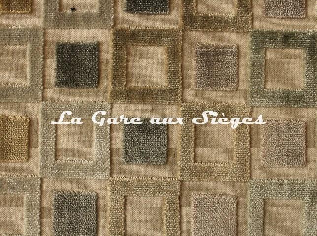Tissu Baker Lifestyle - Square Dance - réf: 50425.4 Parchment - Voir en grand