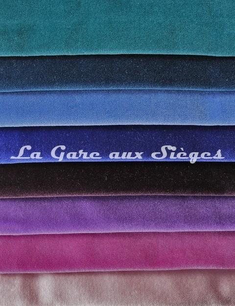 Tissu Pierre Frey - Velours Fine - réf: F3210 - Coloris: 017-018-019-020-021-022-023-024 - Voir en grand
