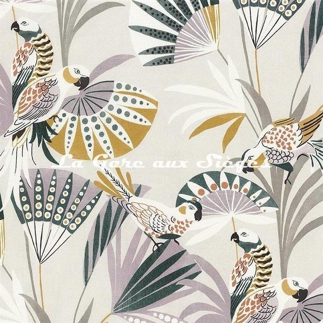 Tissu Camengo - Quetzal - réf: 4206.0359 Parme - Voir en grand