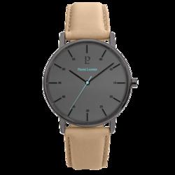Acier noir bracelet cuir Sable 200F484 109¤