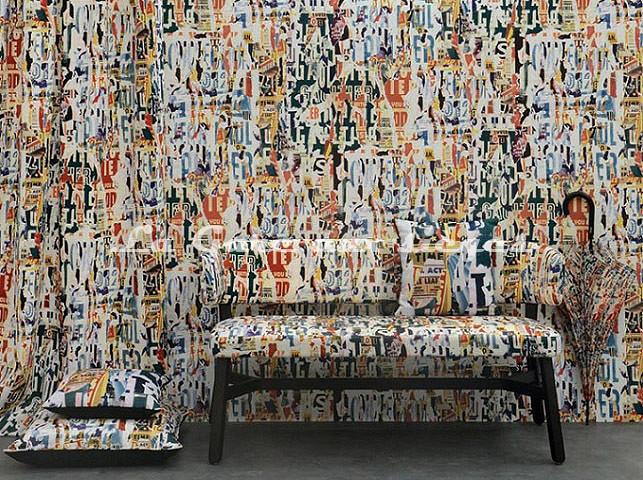 Papier peint Jean Paul Gaultier - Affiches - Voir en grand